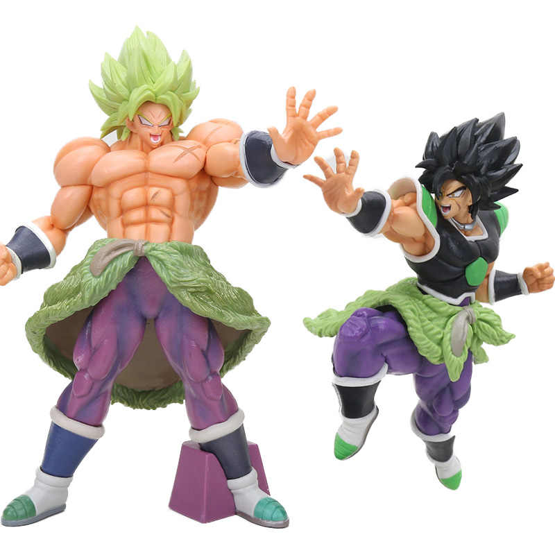 Super Saiyan Broly O 20th film ver. Brolly Dragon Ball Z Animação Dos Desenhos Animados Figura Collectible Toy Modelo