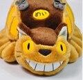 Hayao Miyazaki Animación Doll Juguetes De Peluche de Totoro Totoro Autobús Tranvía Peluches Juguetes Lindos Del Bebé Para Los Regalos