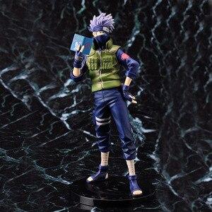 Image 3 - 23cm Hot Sale Naruto Hatake Kakashi Action Figure Shippuden Anime Figures Collectible Boxed Model Toys Doll Birthday Gifts WX403