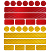 Reflective Bicycle Stickers Adhesive Tape For Bike Safety White Red Yellow Blue Bike Stickers Bicycle Accessories 1