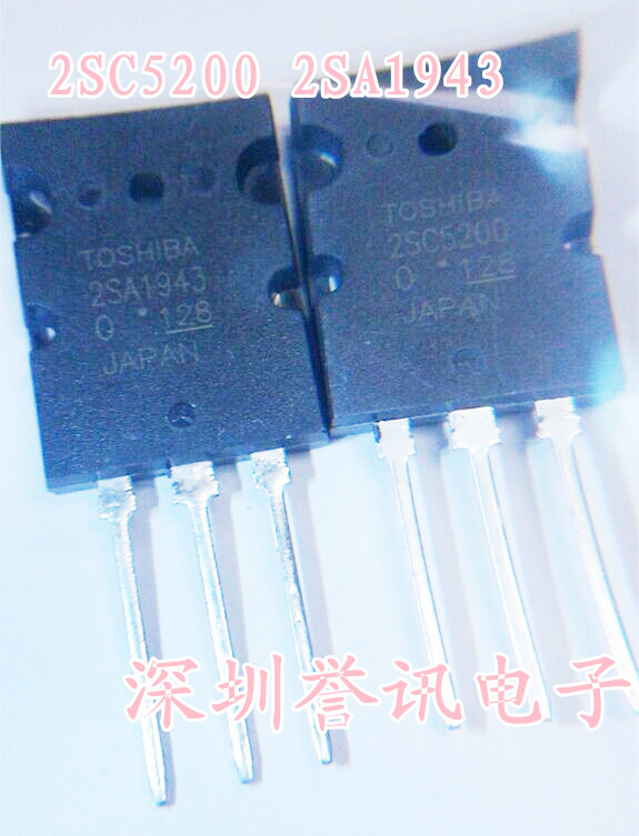 Free shipping 5pcs/lot 2SC5200 2SA1943 new original free shipping 5pcs lot 40cpq100 schottky diode new original