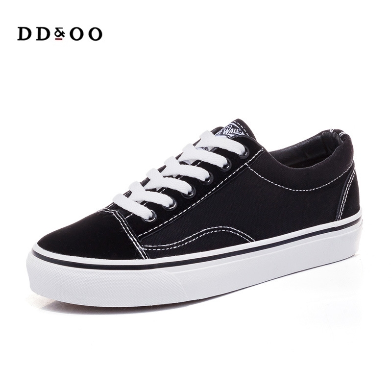 2018 shoes woman spring summer new fashion shoes woman casual flats canvas cotton women casual white shoes sneakers