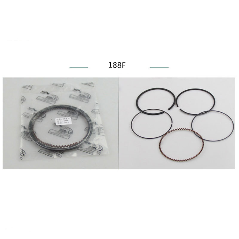 Piston Rings Set For 88MM Cylinder Piston Fit HONDA GX390 GX 390 13HP 5KW 188F