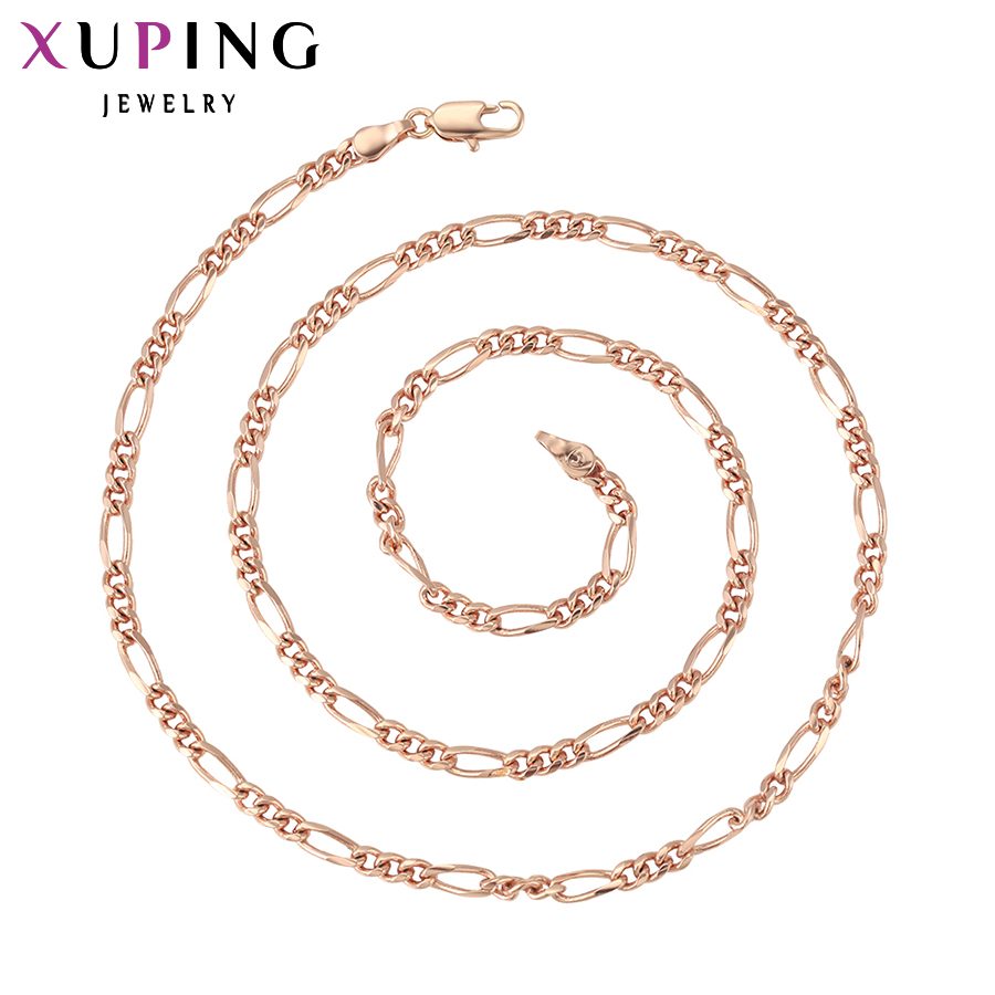 11.11 Deals Xuping Fashion Necklace 2017 New Design Big Necklace for Women Charm Necklace Jewelry Top Sale 42553