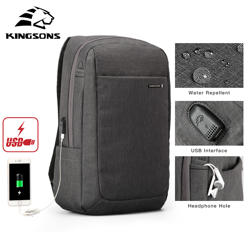 Kingsons Shockproof Air Cell Cushioning Bag Laptop Tablet Backpack Male & Female Overnighter Waterproof Anti-theft MochilaKingsons Shockproof Air Cell Cushioning Bag Laptop Tablet Backpack Male & Female Overnighter Waterproof Anti-theft Mochila
