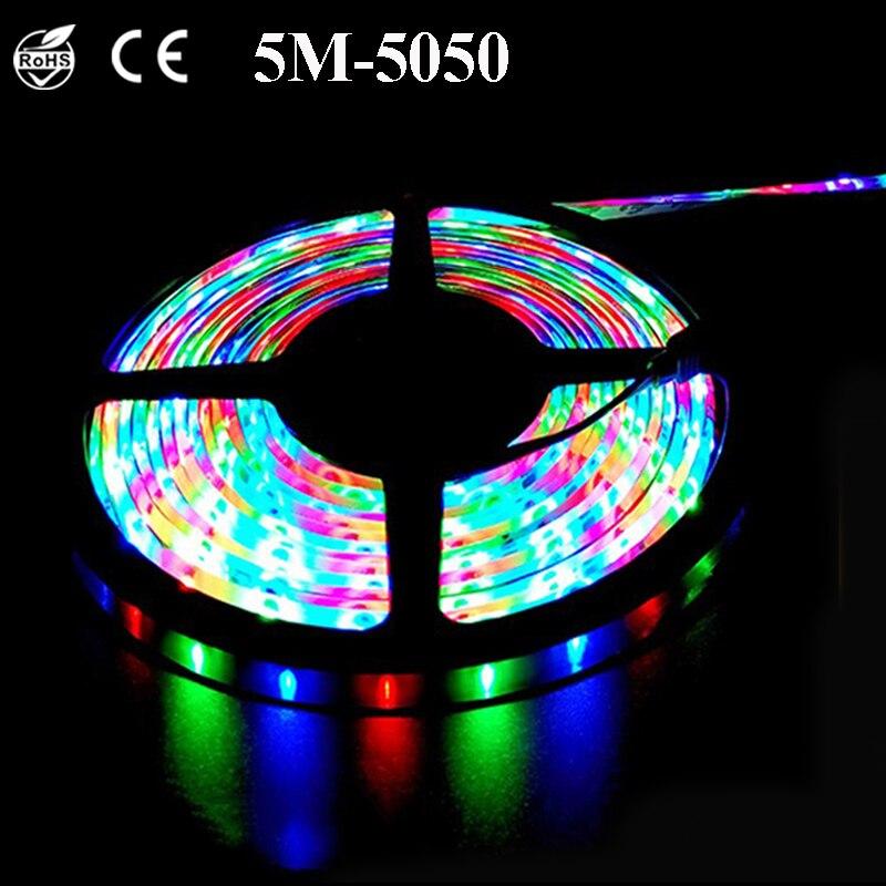 12v RGB LED Ribbon Tape Lighting Christmas Lights Outdoor ...