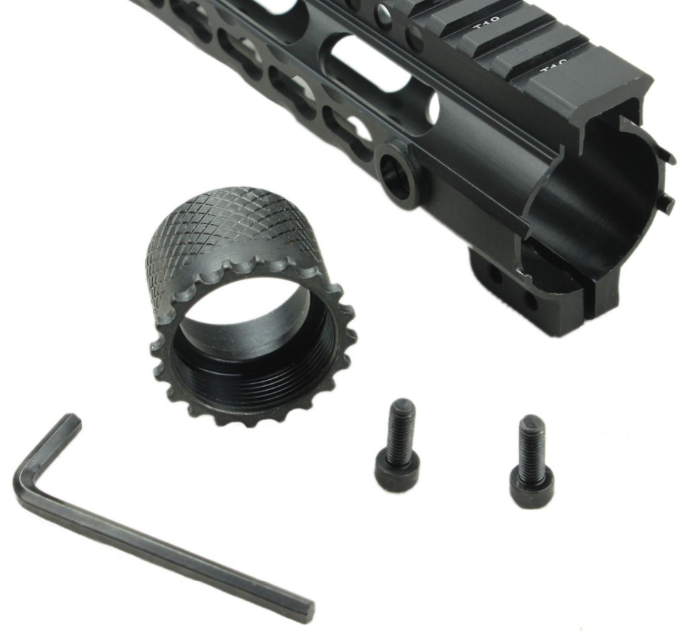 Funpowerland Newly design 15 inch AR-15/M16 KeyMod Series One Piece Free Float Handguard
