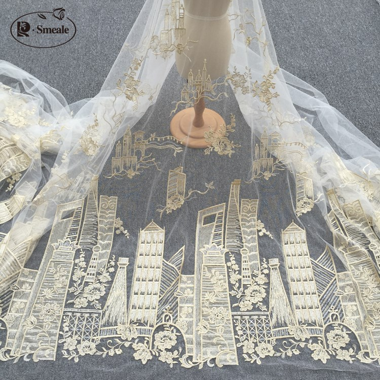 New fashoin sequins mesh fabric decoration handmade doll skirt cloth sewing DIY wedding dress dancer clothing width 127cm RS1979