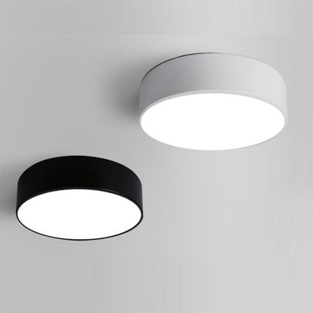 7bdaa0a73 12 W 230mm moderno LED luz de techo luz interior luz LED techo lámpara  personalidad creativa