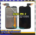 """FPC-2 FPC-3 4.3 """"Para Pentagrama para Mon ster P430-1/S4502 tela lcd + digitador assembléia de toque de vidro"""