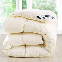 Camelhair warm winter wool quilt thicken comforter/duvet/blanket Lamb Down Fabric filling king queen size single double Cashmere