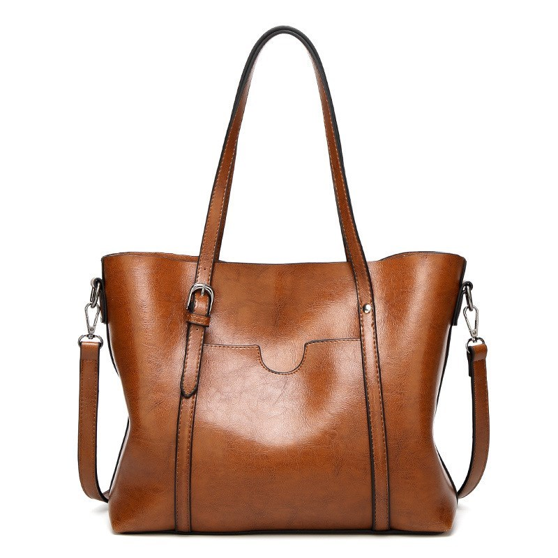 Genuine leather Women Tote handbags  1