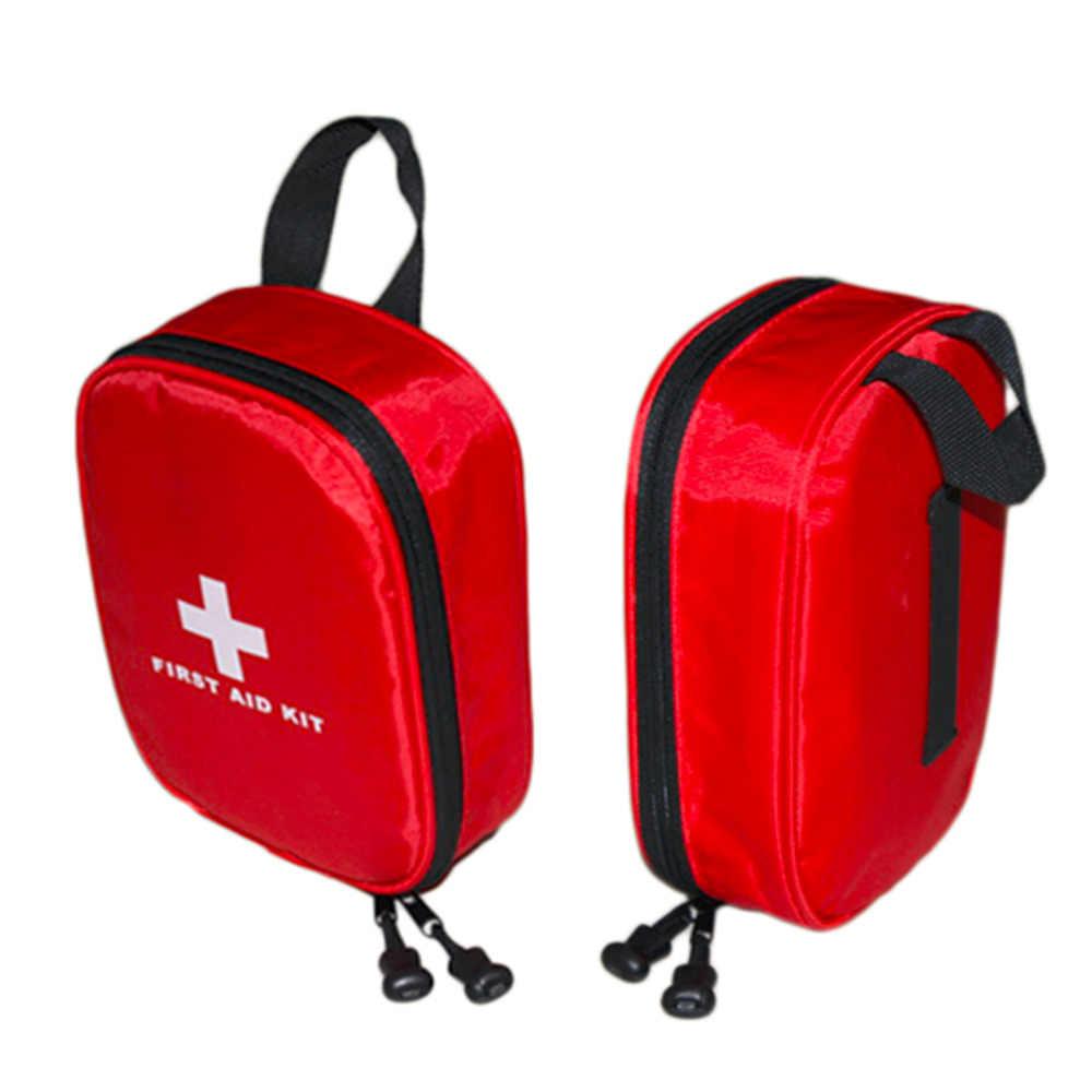 18*13.5*5.5 سنتيمتر في الهواء الطلق حقيبة طبية الطوارئ المنزل التخييم الأولى الإيدز أطقم حقيبة الإنقاذ عالية الكثافة ripstop أقمشة مضادة للماء