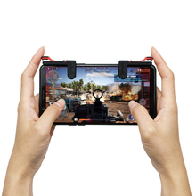 Pubg Trigger For Gamepad For Mobile Phone Game Controller l1R1 Shooter Trigger Fire Button For IPhone Forfor iPhone/Android/IOS shooter controller joystick for pubg mobile control for ipad tablet cell phone gamepad trigger fire button l1r1 for ios android