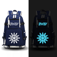 RWBY Backpack Cosplay ruby rose Anime Canvas Bag Schoolbag Travel Bags