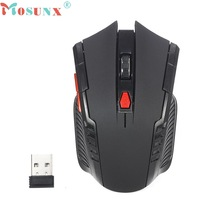 Good Sale High Quaility 2.4Ghz Mini portable Wireless Optical Gaming Mouse For PC Laptop Black Free shipping Dec 11