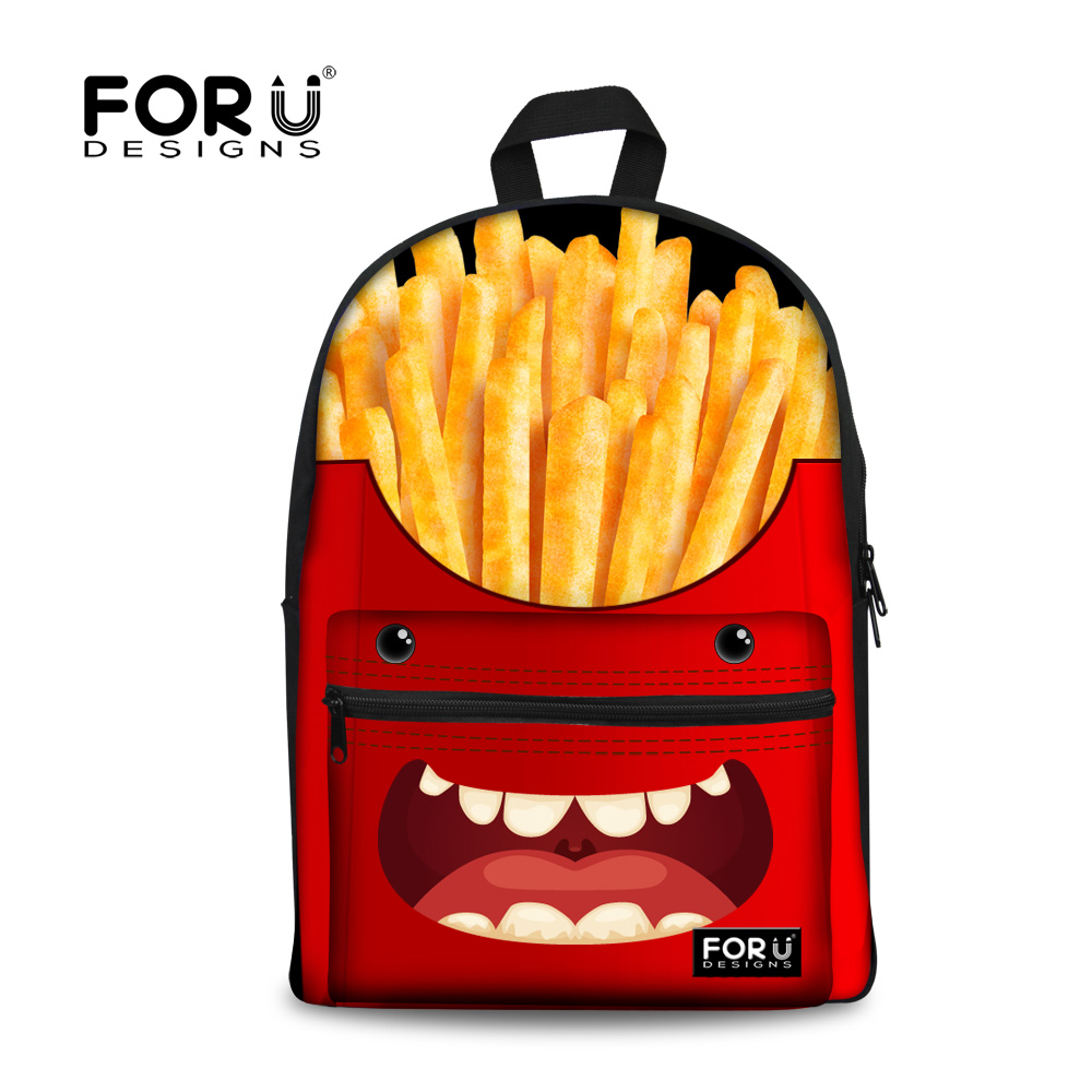 Candy Style Women Funny Red Backpack For Girls School Backpacks Children Shoulder Daypack for College Students Campus Back Pack