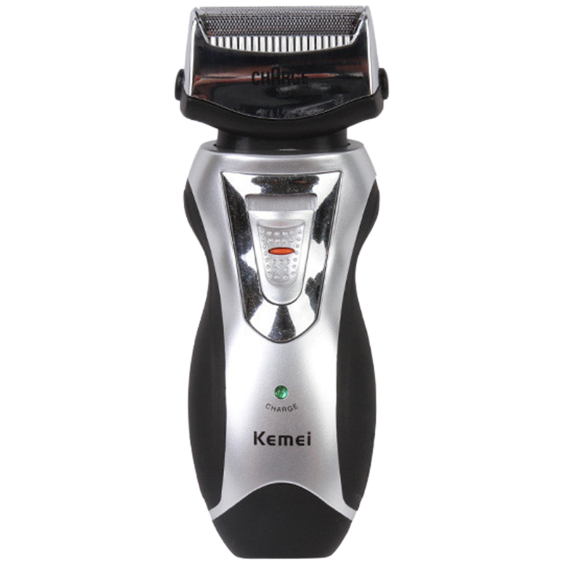 KM-8007 Men Electric Shavers Compact Rechargeable Cordless Razor Facial Beard Use Trimmer EU Plug Men's Facial care tools kemei men s electric shaver cordless rechargeable reciprocating razor wet and dry use beard trimmer men s face care tool km 2016