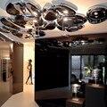 2014 NUEVO Techo 20 W acero inoxidable LED lámparas luces moderno pasillo lámparas de ficción + EMS