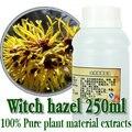 Compras libres 100% de la planta extracto de hamamelis extractos materiales de reparación 250 ml cuidado de la piel acné antiinflamatorio convergencia