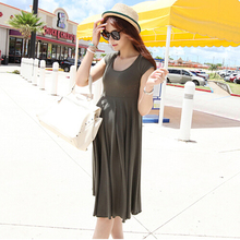 modal  aternity clothes pregnant dress for women maternity dresses