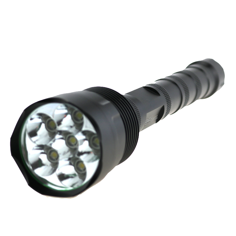 Trustfire Max 6800 Lumen Tactical Hunting Led Flashlight Super Bright 3T6 6T6 Led Lantern Lamp For Camp Working By 18650 Battery
