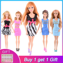 UCanaan 20 Items Clothes&Shoes for 1/6 Doll 10 Clothes O