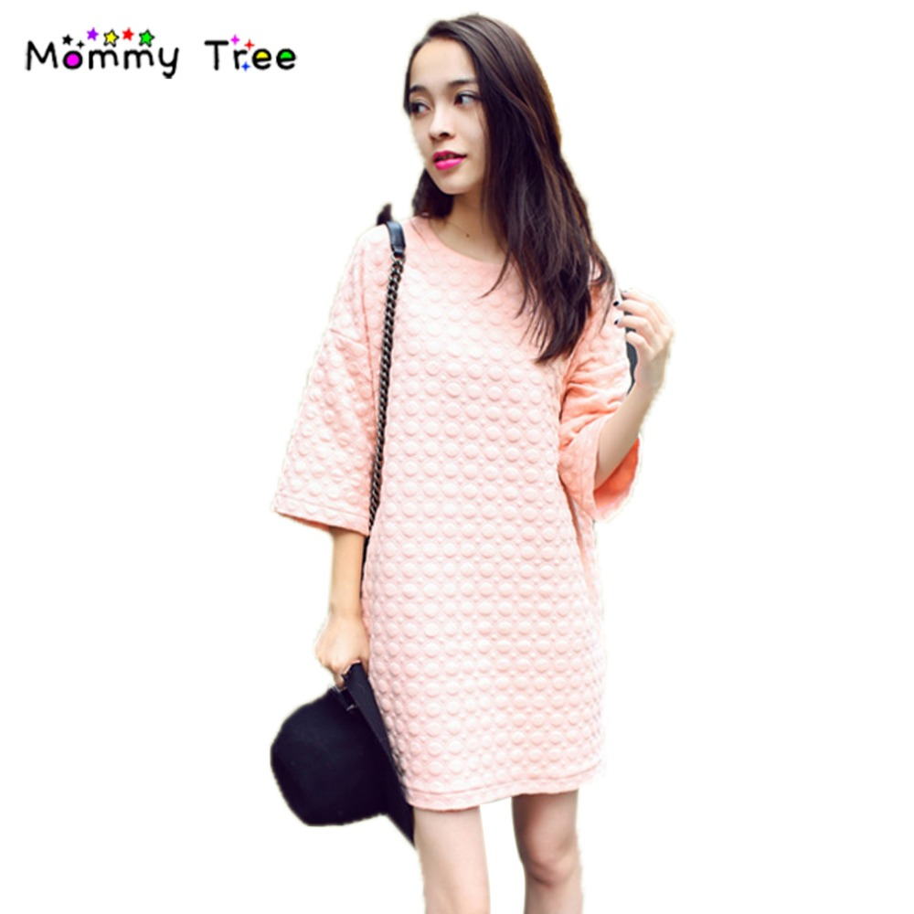 Online get cheap bow pink maternity dress aliexpress autumn winter maternity dress cute pink dresses for pregnant women pregnancy clothes casual pregnant dress maternity ombrellifo Gallery