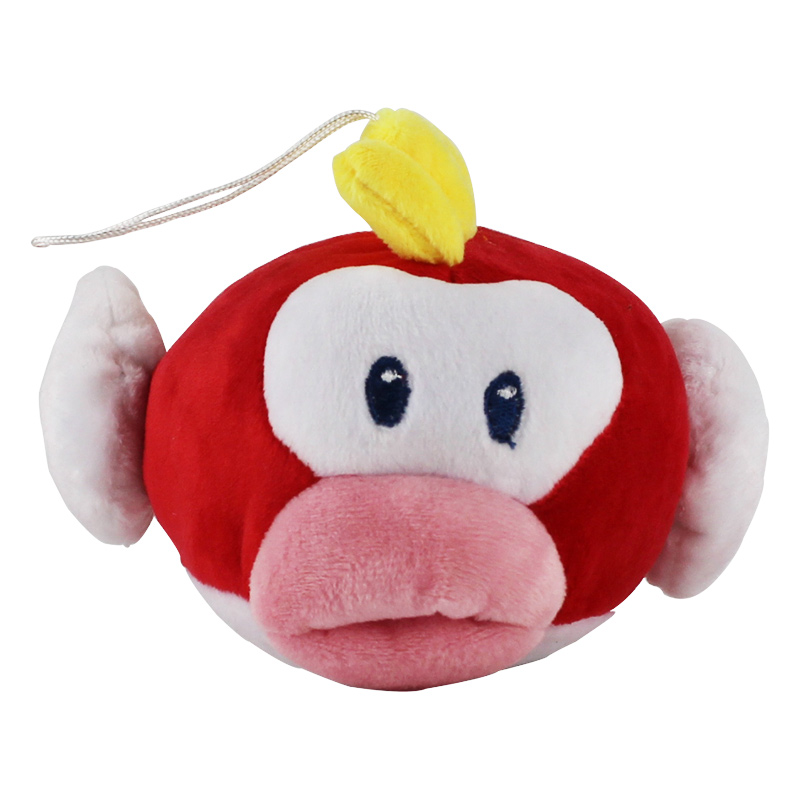 1pcs 16cm New Super Mario Bros Flying Fish Plush Doll Stuffed Toy Plush Soft Doll collection kids gifts