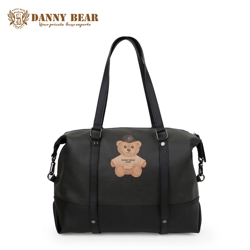 цена на DANNY BEAR Women Vintage Leather Handbags Notebook Shoulder Bags For Men Teenager Girl Fashion Summer Travel Handbag Bolso Bolsa