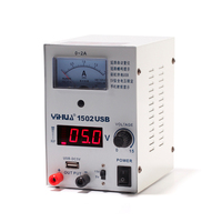 YIHUA 1502USB 15V 2A Adjustable USB Dual DC Regulated Power Supply