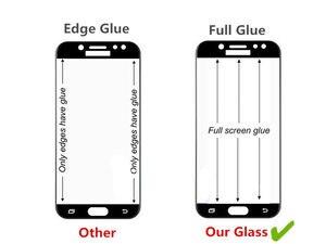 Image 4 - 2 piezas Protector de pantalla LCD Xiaomi Mi 8 Lite pegamento completo de vidrio Xiomi Mi 8 Lite 2.5D cubierta completa de vidrio templado para Xiaomi Mi 8X Film ^