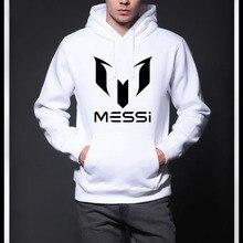 2017 New Fashion MESSI Men hoodies sweatshirt Man casual pocket hat shirt Hoodies Long Sleeve Hoodies  Size XS-XXL