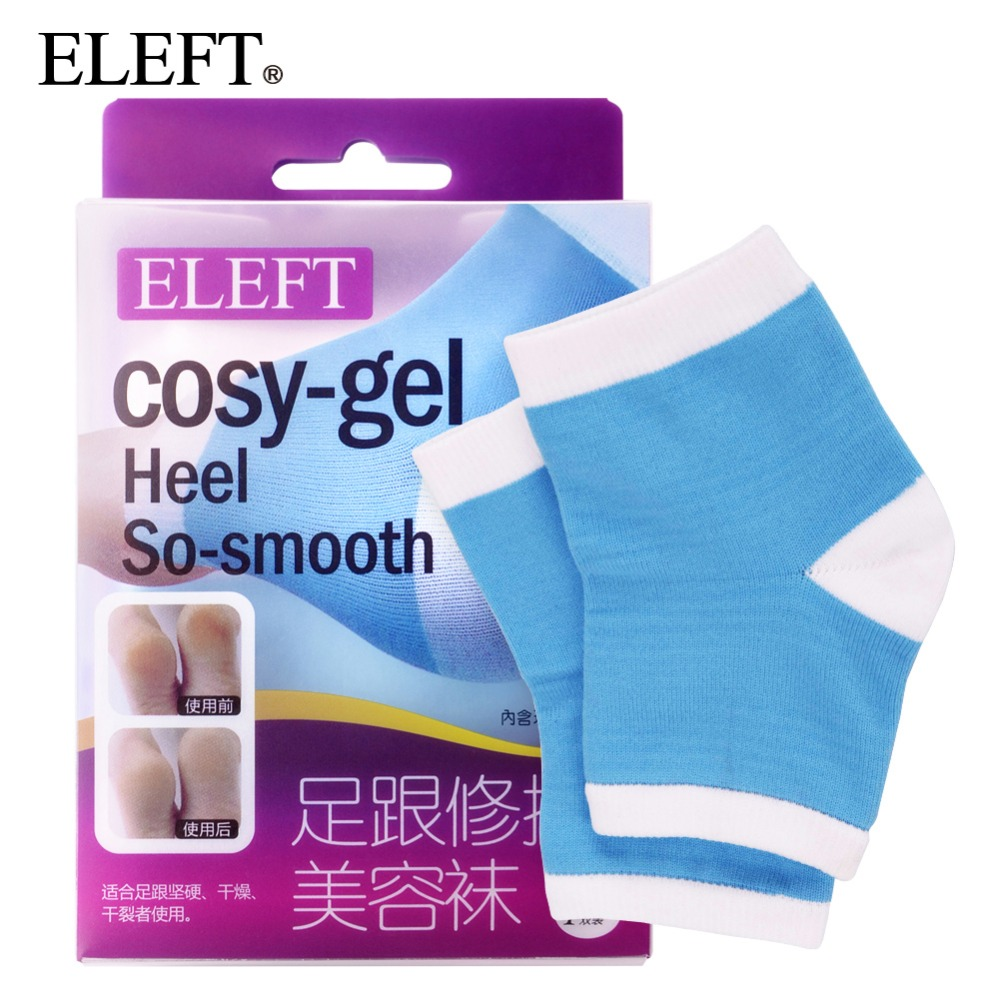 ELEFT Foot care cosy-gel heel silicone foot pad insoles shoe inserts socks pads for shoes woman men brand shoes accessories 2 pcs foot care insoles invisible cushion silicone gel heel liner shoe pads heel pad foot massage womens orthopedic shoes z03101