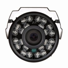 2 Packs HD 800TVL 24 IR LED CCTV Camera Home Surveillance Camera Day/ Night Waterproof Camera