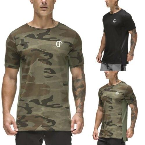 Plus Size 2XL Men Cotton T shirt Brand Clothing Hip Hop Camouflage Men T Shirt Short Sleeve Anime High Quality T-Shirt Men