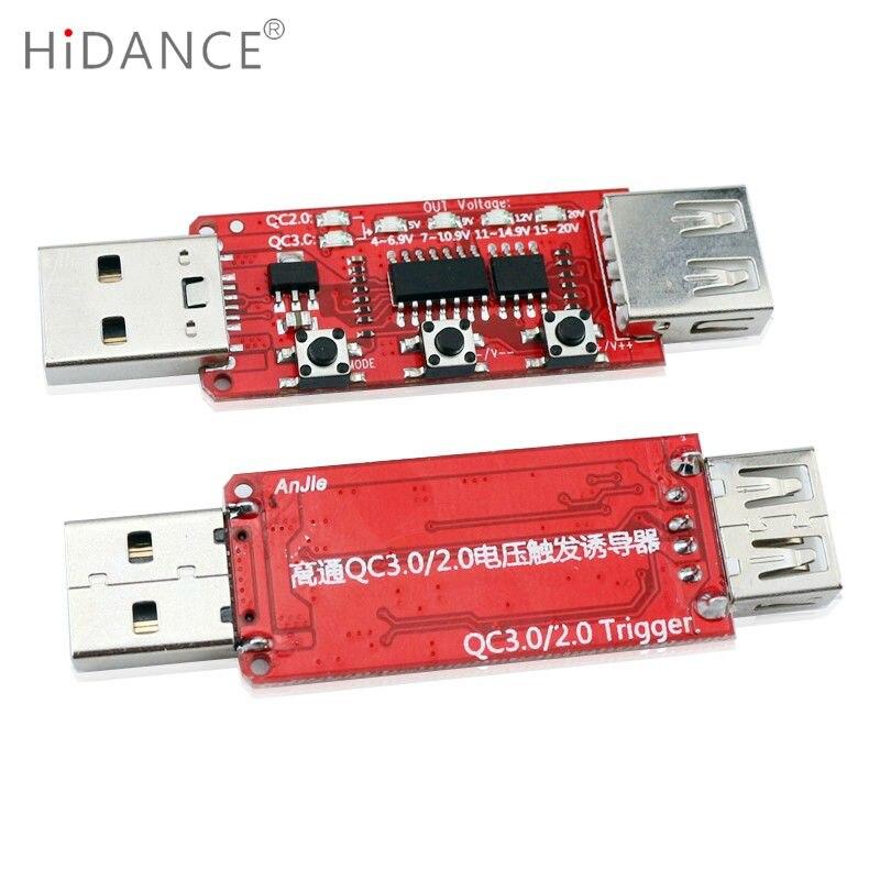 Qualcomm QC2.0 / 3.0 automaatne USB-testri mõõteriista pinge - Mõõtevahendid - Foto 4