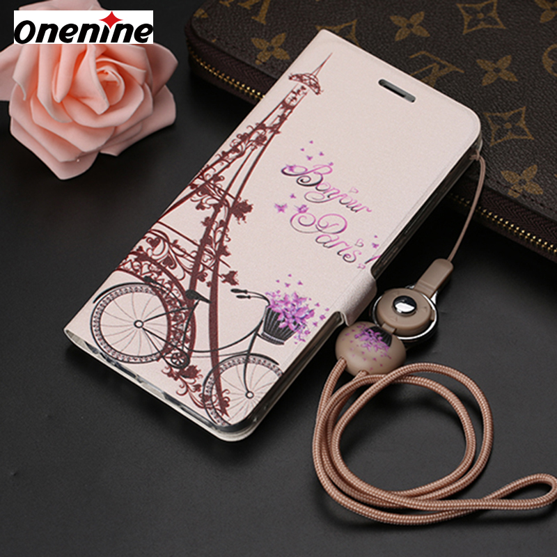 Leather Case for Meizu M3X Meilan X Case Flip Leather Wallet Card Cover 5.5 Shockproof Cute Stand Mobile Phone Case Back Cover