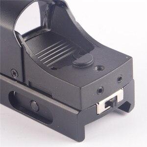 Image 5 - CBSEBIKE עדשת Riflescope הולוגרפי Sight מיקרו רפלקס היקף רמות מיני ציד רובה דוט Collimator