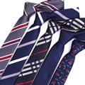 2017 Nuevo lazo de la moda de Alta Calidad del estilo de Inglaterra Rayas TEJIDOS en JACQUARD, hombres Corbata del lazo 6 cm wedding party negocios corbata Vestimenta masculina