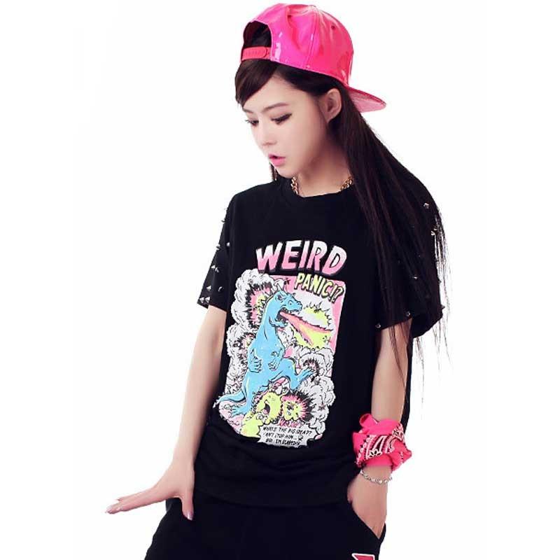 black-pink-blue-hip-hop-t-shirt