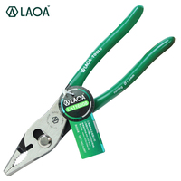 LAOA Multifunction Cr Mo Slip Joint Pliers Pipe Wrench Locking Pliers Wire Cutter HRC58
