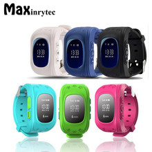 Maxinrytec Q50 Kid Child Safety GPS Watch SOS Call Wristwatch Location Finder Locator Tracker Anti Lost Monitor PK Q90 Q730 Q80(China)