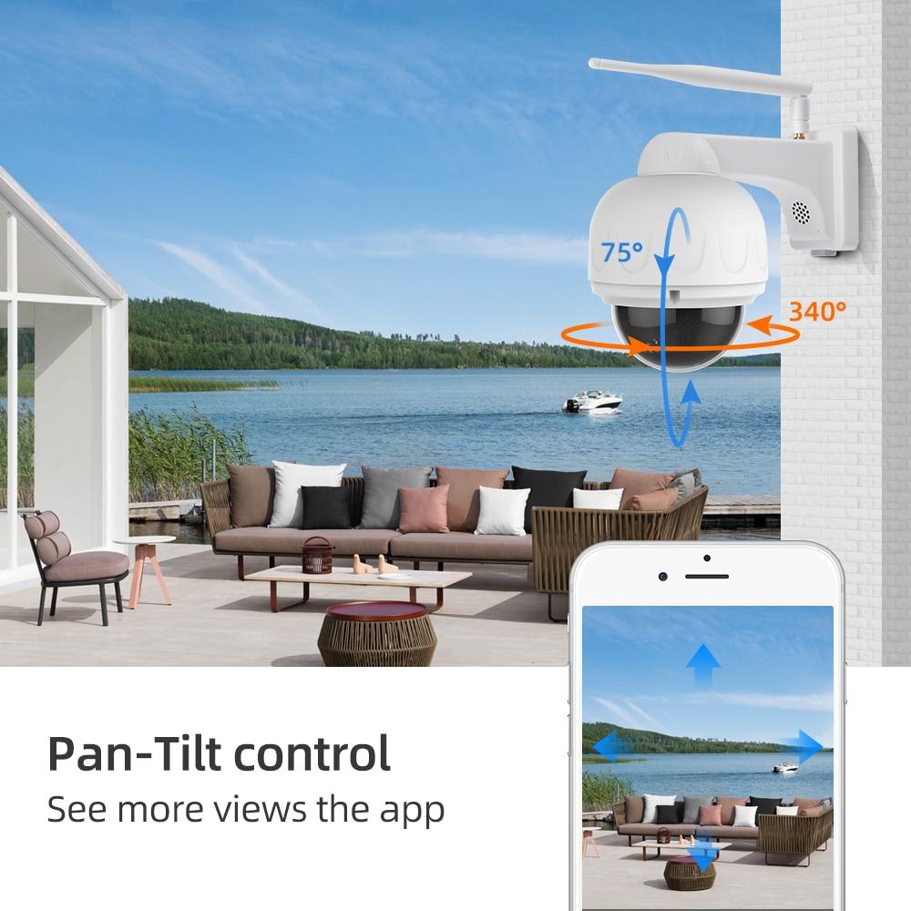 Vstarcam 1080P IP Kamera 4X Zoom IP66 Wasserdichte Outdoor Wifi Kamera Autofokus PTZ CCTV Überwachung Sicherheit Kamera IR nacht - 3