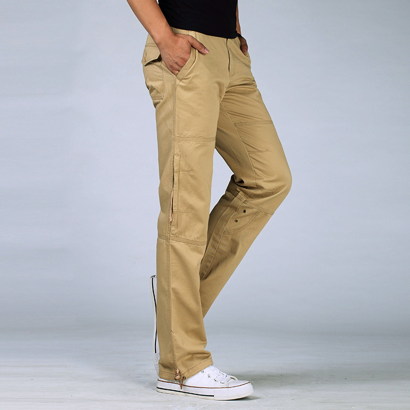 Compare Prices on Slim Fit Khaki Cargo Pants- Online Shopping/Buy ...