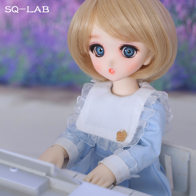 SQ Lab_ Ren Chibi 26cm 1/6 BJD SD Resin Model Hot Baby Girls Boys Dolls High Quality Gift Toys Shop Fullset OUENEIFS 2