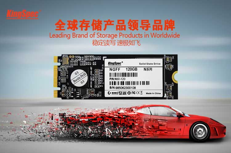 kingspec NGFF 82*22 SSD 128GB 256GB Mini Pcie Solid State Drive for Thinkpad for lenovo for dell for hp With channel:128mb