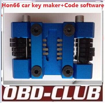 2015 Newest Hon66 Locksmith car key maker Code software car key tool can do whole lost