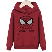 [XHTWCY]New Arrive The Amazing Spider Man Sweatshirts Hoodies Coat Hoody Marvel Pullover Sweatshirt Outerwear Clothes