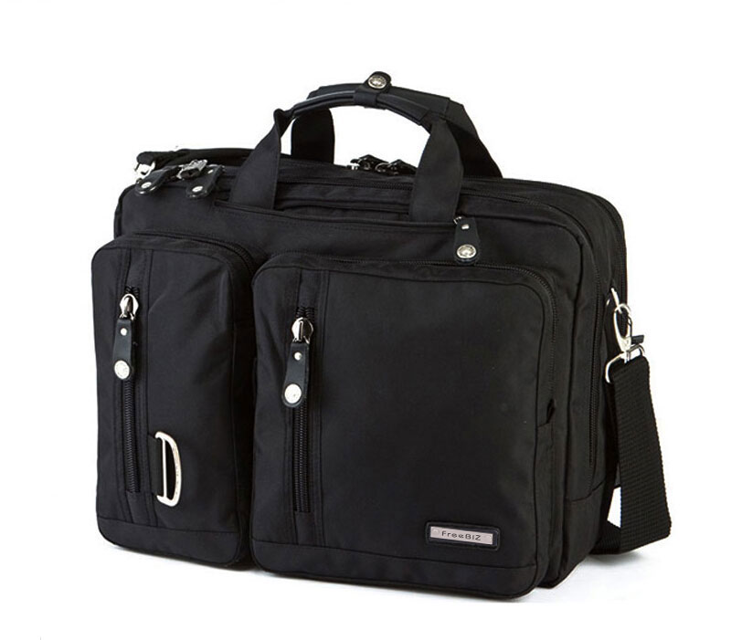FreeBiz Laptop Bag Multi-function Briefcase with Handle and Shoulder Strap Fits 15 15.6 17 17.3 18 18.4 Inch Laptop